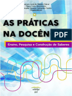 Livro AS PRÁTICAS NA DOCÊNCIA_e-book