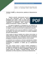 Teoriìas de la educacioìn seguìn Felipe Aguado