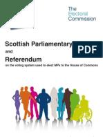 Electoral Commission AV Referendum Guide - Scotland