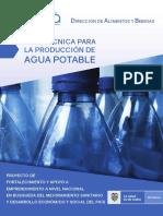 Cartilla Guía Técnica Para La Producción de Agua Potable (1)