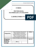 Laboratorio 8 Materiales Sintéticos y Compuestos.