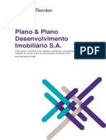 Demonstrativos Financeiros Do Resultado Da Plano&Plano Do 1t21