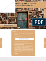 ebook - CORSO_Reflexoes sobre filosofia da educacao no Brasil