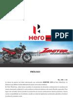 Manual del propietario Hero Ignitor 125