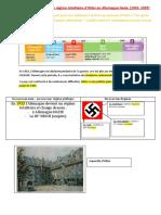 Le régime totalitaire d'Hitler