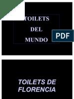 Banheiros pelo mundo...