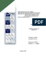 TRABAJO Nª 2 DE FORMULACION Y EVALUACION DE PROYECTOS (Autoguardado)