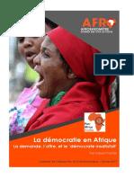 La démocratie en afrique