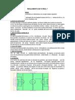 Reglamento de Futbol 7