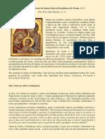 São José Nas Obras de Santa Maria Madalena de Pazzi