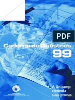 Unicamp - 1999 - Prova Comentada - Geografia