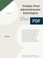 Presentación Trabajo Final Administracion Estrategica- Grupal