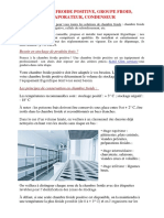 Chambre Froide Positive