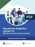 Vaccinarea împotriva COVID-19