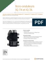 Brochure micro-onduleurs Enphase IQ7