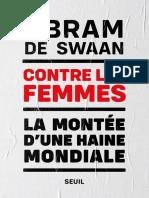 Abram de Swaan - Contre Les Femmes