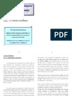 Cours Droit Des Assurances Cima Document Final