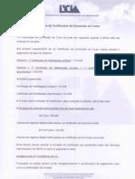 certificados de conclusão de curso _procedimentos