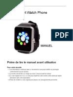 Smartwatch-A1 Manual FR