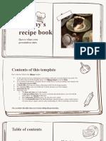 Granny's Recipe Book by Slidesgo