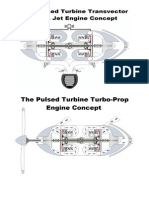 The Pulsed Turbine Turbo-Prop Engine Concept