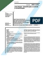 Kupdf.net Nbr 13700 Areas Limpas Classificacao e Controle de Conta