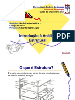 2 - Introducao a Analise Estrutural