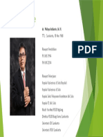 Curriculum Vitae dr. Wahyu Indianto