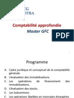 Cours Officiel Compta Approfondie GCF ENCGK