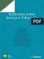 reflexões sobre justiça e educação