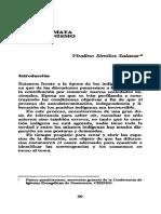 06. Cultura Maya y Cristianismo. Vitalino Similox Salazar