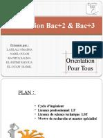 orientation du Bac+2 & Bac+3