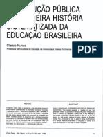 resenha do livro de José Ricardo Pires de Almeida