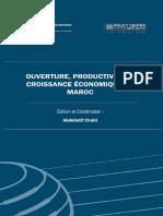 Ouverture Productivite Et Croissance Economiqueau