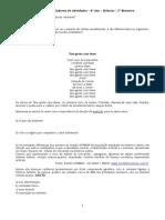 ATIVIDADE - 7º SÉRIE - SISTEMA DIGESTÓRIO E CIRCULATÓRIO