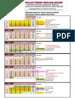 Kalender Akademik 2020-2