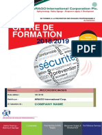Catalogue de Formation 2018-2019