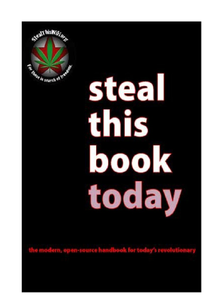 Steal this book email hippie fandeluxe Choice Image