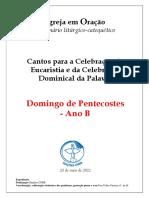 Caderno Pentecostes B