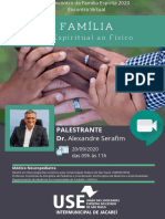 33º Encontro da Famílila Espírita da USE Intermunicipal de Jacarei 2020