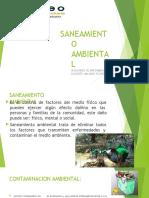 Diapositiva Para Exponer Saneamiento