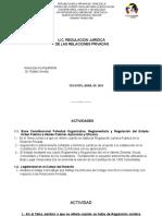 U.C. REGULACION JURIDICA DE LAS RELACIONES PRIVADAS (Nuris Palencia - V-5.584.973)