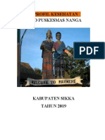 Profil Puskesmas Nanga 2019