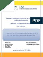 projet fin d'étude sous theme la RSE (1)