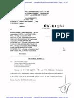 WICKSELL, et al v. BOMBARDIER CORP., et al Complaint