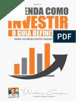 Aprenda Como Investir Weldes Campos