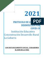 Anexo 3. PROTOCOLO DE LIMPIEZA Y DESINFECCIÓN POR COVID-19 (1)