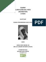 SEJARAH ULAMA-ULAMA AHLI HADIS (MUHADDITSIN) DI INDIA
