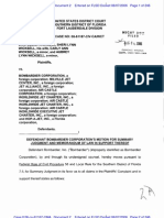 WICKSELL, et al v. BOMBARDIER CORP., et al Summary Judgement