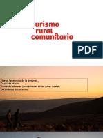 Turismo Rural Comunitario Peru - Mincetur